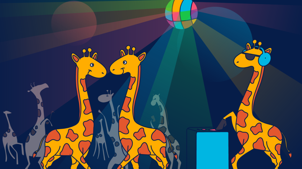 Targeting giraffes with email automation is easy