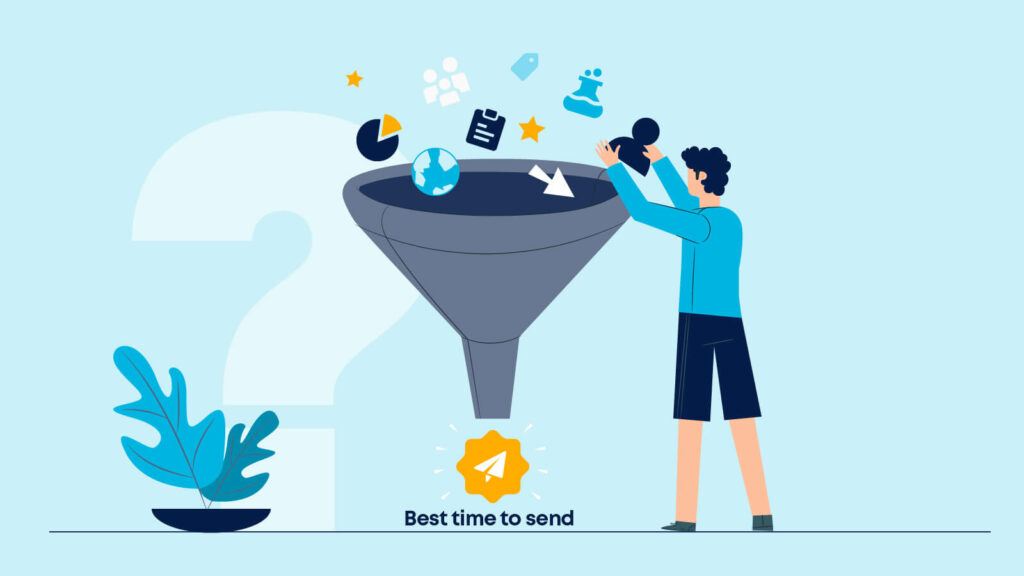 Discover the best time to send with behavioural data