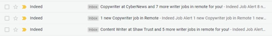 Personalized email keep in mind cusotmers' interests