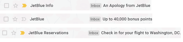 Transactional emails can use different sender names