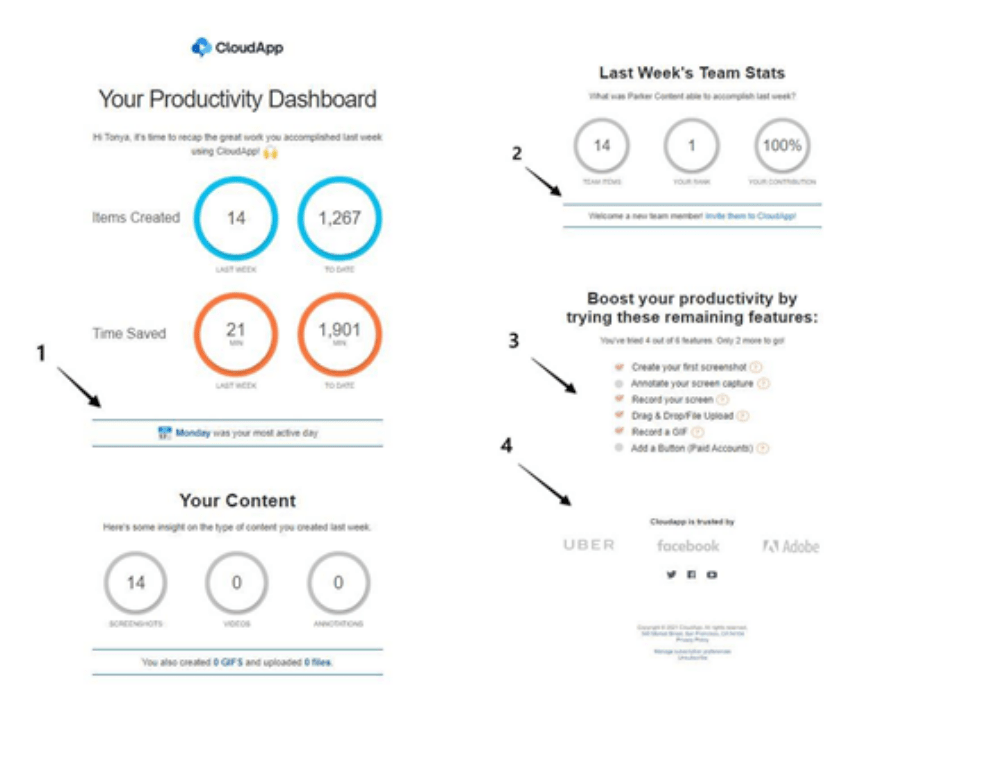 Mix and match strategies to create the perfect transactional email